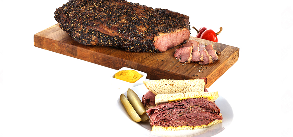 "Style ""dry cured Smoky Red"" avec sandwich (153)"